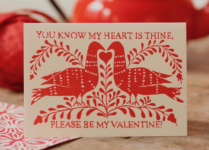 Cambridge Imprint Card Be My Valentine