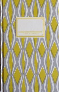 Cambridge Imprint Hardback Notebook Smocking yellow