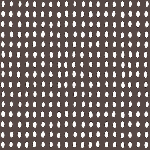 Cambridge Imprint Bean Patterned Paper in Coffee