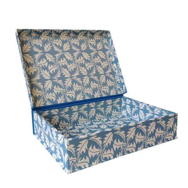 A4 Box File Dandelion Blue by Cambridge Imprint