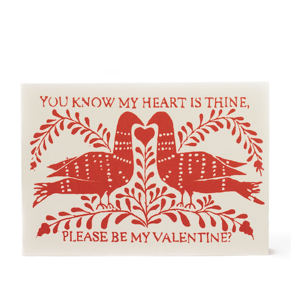 Cambridge Imprint Card Be My Valentine