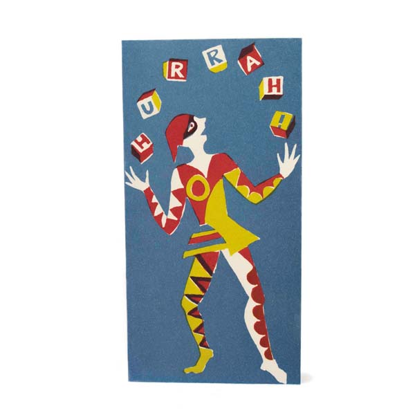 Juggler Hurrah! Red, Yellow and Blue by Cambridge Imprint