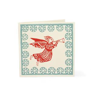 Cambridge Imprint Card Angel coral