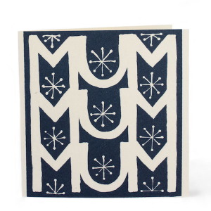 Cambridge Imprint Square Card MUM