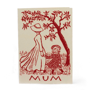 Cambridge Imprint Card Mother and Child