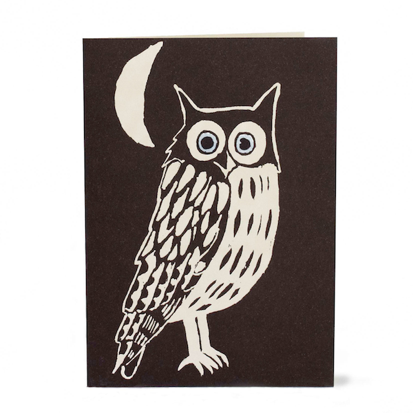 Cambridge Imprint Card Nighttime Owl