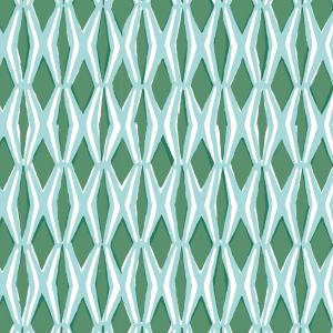 Cambridge Imprint Smocking Patterned Paper in Jade and Forest Green