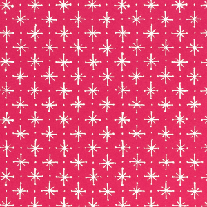 Cambridge Imprint Large Stars Patterned Paper in Magenta
