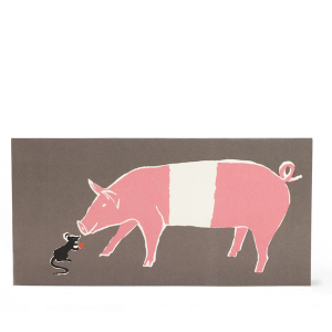Mouse and Pig Card by Cambridge Imprint