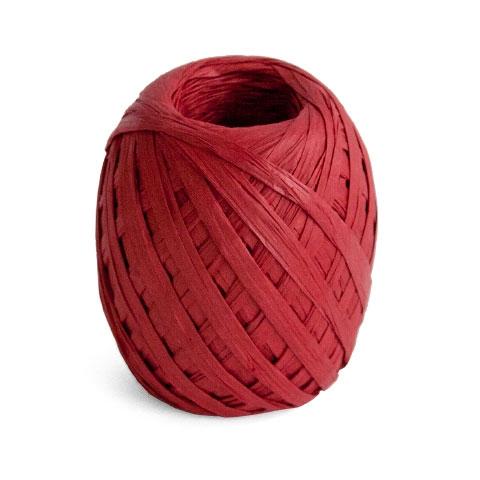Cambridge Imprint Paper Ribbon Crimson