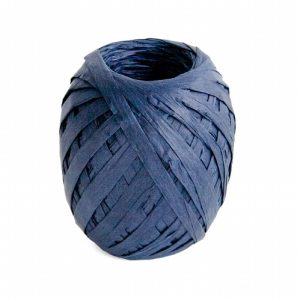 Cambridge Imprint Paper Ribbon Indigo