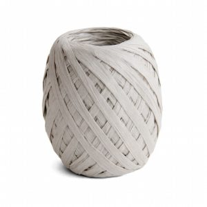 Cambridge Imprint Paper Ribbon Pale Grey