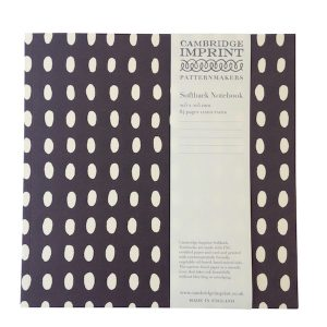 Cambridge Imprint Square Bean Notebook with Lined Paper