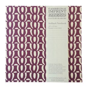 Cambridge Imprint Square Chainmail Notebook with Lined Paper