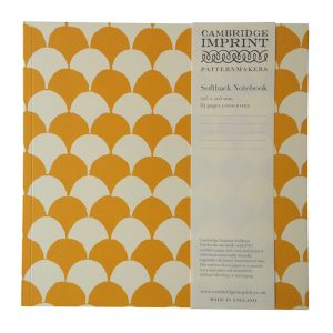 Cambridge Imprint Square Clamshell Notebook with Lined Paper