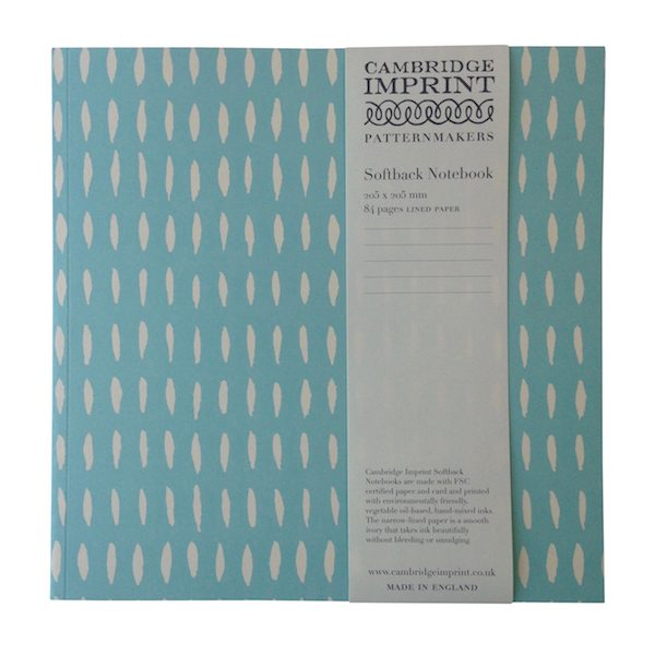 Seed Cambridge Imprint Square Notebook with Lined Paper