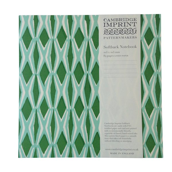 Cambridge Imprint Square Smocking Notebook with Lined Paper