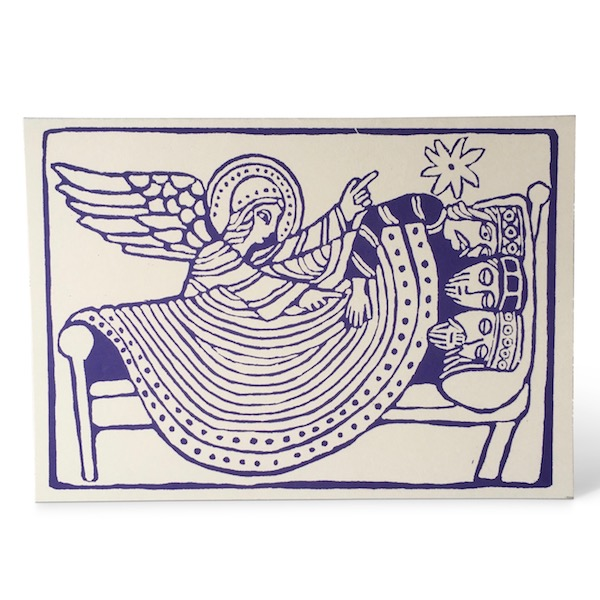 Dream of the Three Kings charity Christmas Card by Cambridge Imprint
