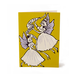 Birthday Fairies Card by Cambridge Imprint