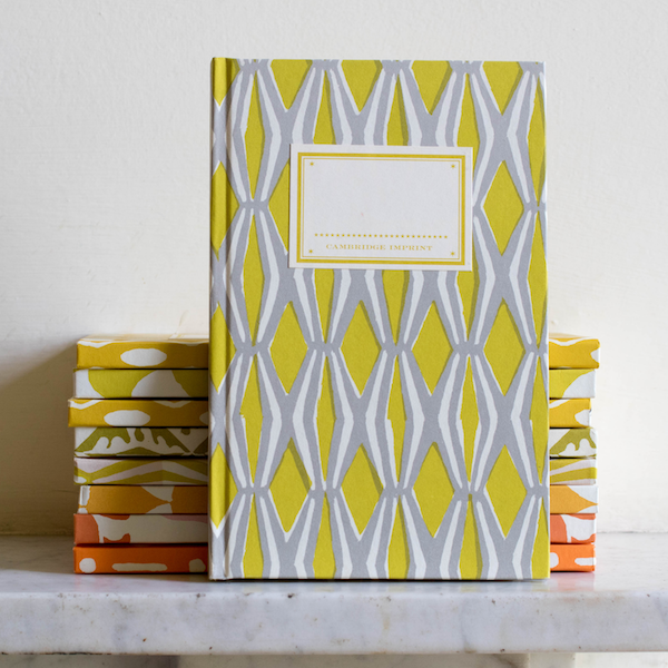 Cambridge Imprint yellow hardback notebooks