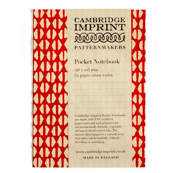 Cambridge Imprint Pocket Notebook Yo-Yo Tomato