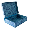 Cambridge Imprint A5 Box File Seaweed Paisley