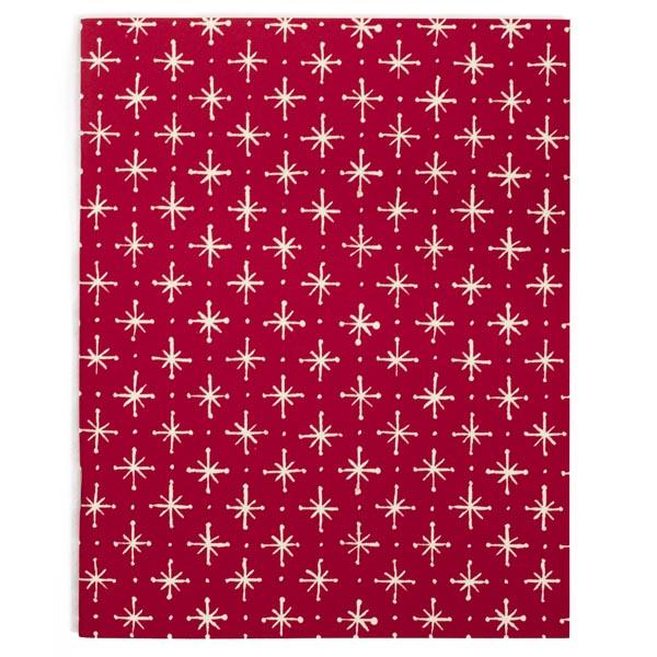 Cambridge Imprint Slim Exercise Book Large Stars Magenta