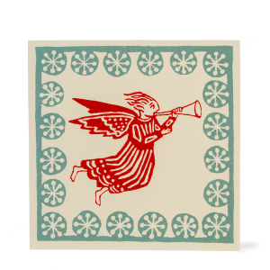 Cambridge Imprint Card Angel coral