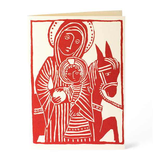 Cambridge Imprint Card Flight into Egypt Card for the Jean Grove Trust