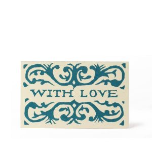 Cambridge Imprint Gift Card With Love Blue