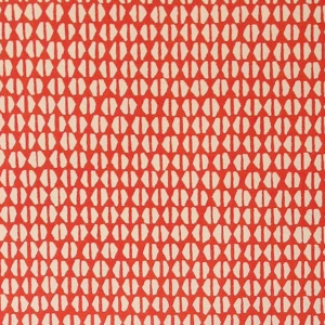Cambridge Imprint Yo-Yo Patterned Paper in Tomato