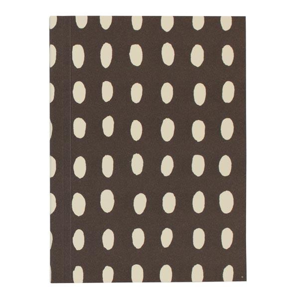 Cambridge Imprint Pocket Notebook in Bean Coffee