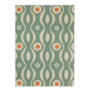 Cambridge Imprint Pocket NotebookPersephone Teal and Orange