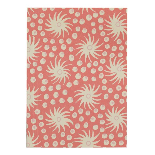 Cambridge Imprint Pocket Notebook Milky Way Pink and Old Red