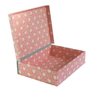 A4 Box File Milky Way Old Red and Pink by Cambridge Imprint