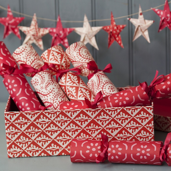 Cambridge imprint Crackers and Star Garland