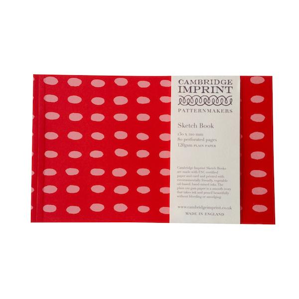 Cambridge Imprint Softback Sketchbook in Bean Summer Pudding