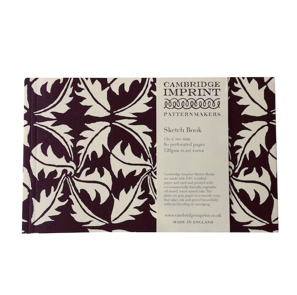 Cambridge Imprint Softback Sketchbook in Dandelion Navy
