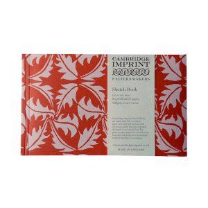 Cambridge Imprint Softback Sketchbook in Dandelion Rose and Rust