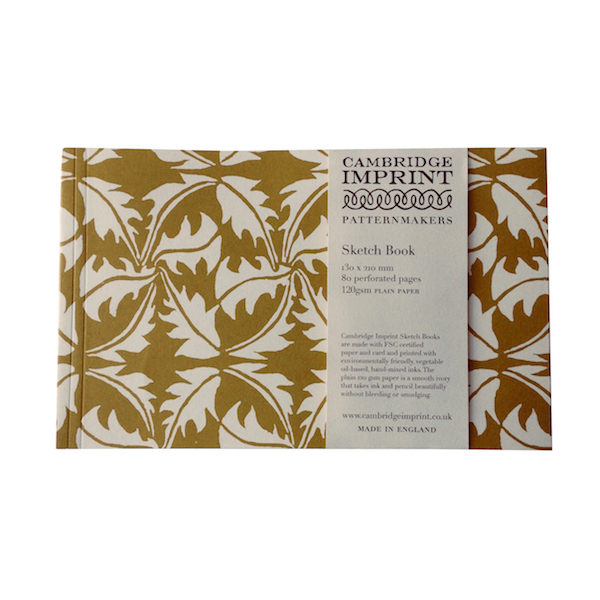 Cambridge Imprint Softback Sketchbook in Dandelion Turmeric