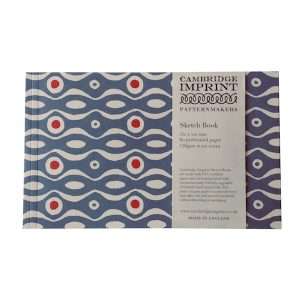 Cambridge Imprint Softback Sketchbook in Persephone Cornflower and Red