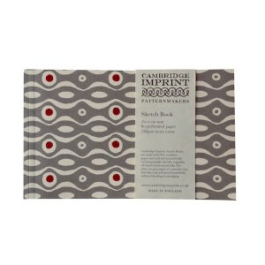 Cambridge Imprint Softback Sketchbook in Persephone Grey and Crimson