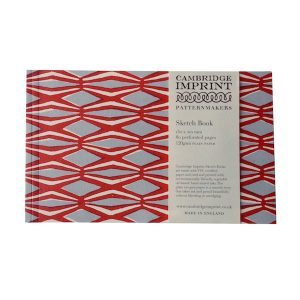 Cambridge Imprint Softback Sketchbook in Smocking Coral and Lavender