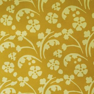Cambridge Imprint Pastterned Paper Wild Flowers Yellow