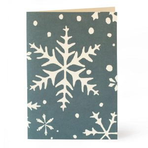 Cambridge Imprint Snowflake Card