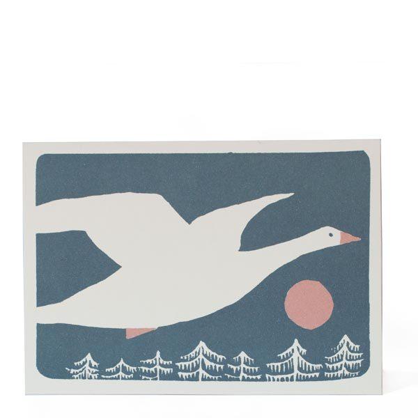 Cambridge Imprint Snow Goose Card