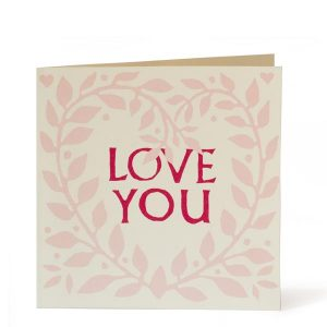 Cambridge Imprint Love You Wreath Card