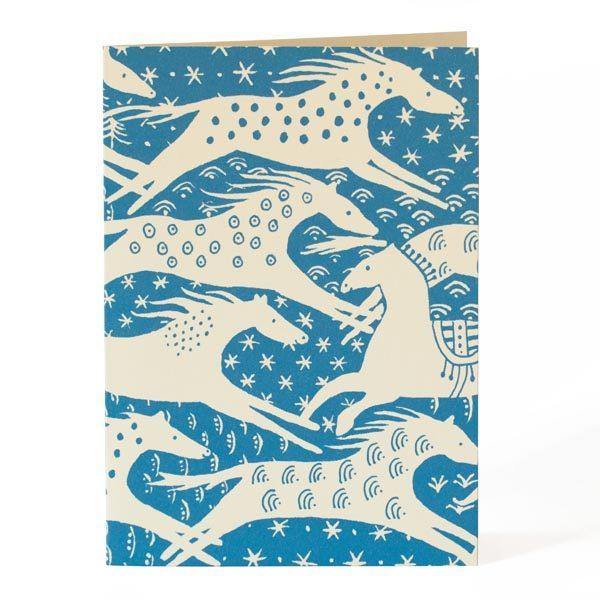 Cambridge Imprint Horses Card