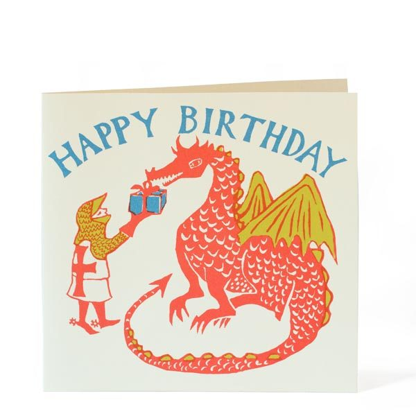Happy Birthday Dragon Card by Cambridge Imprint
