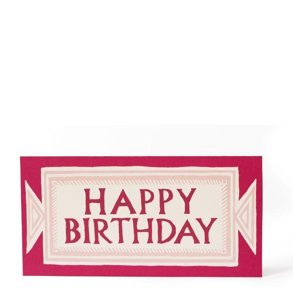 Neoclassical Happy Birthday Card by Cambridge Imprint